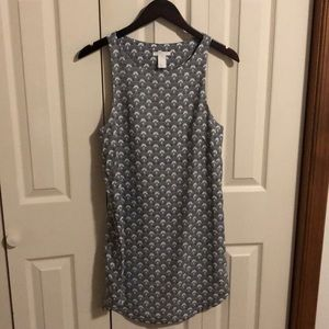 H&M Dress US size 6 black and white